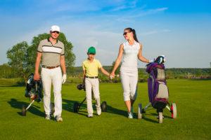 family golf, scrambles