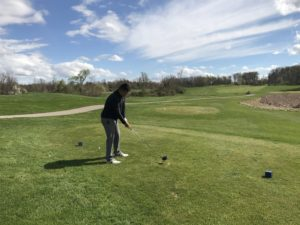 shot 1, hill course, oxford, oakland county