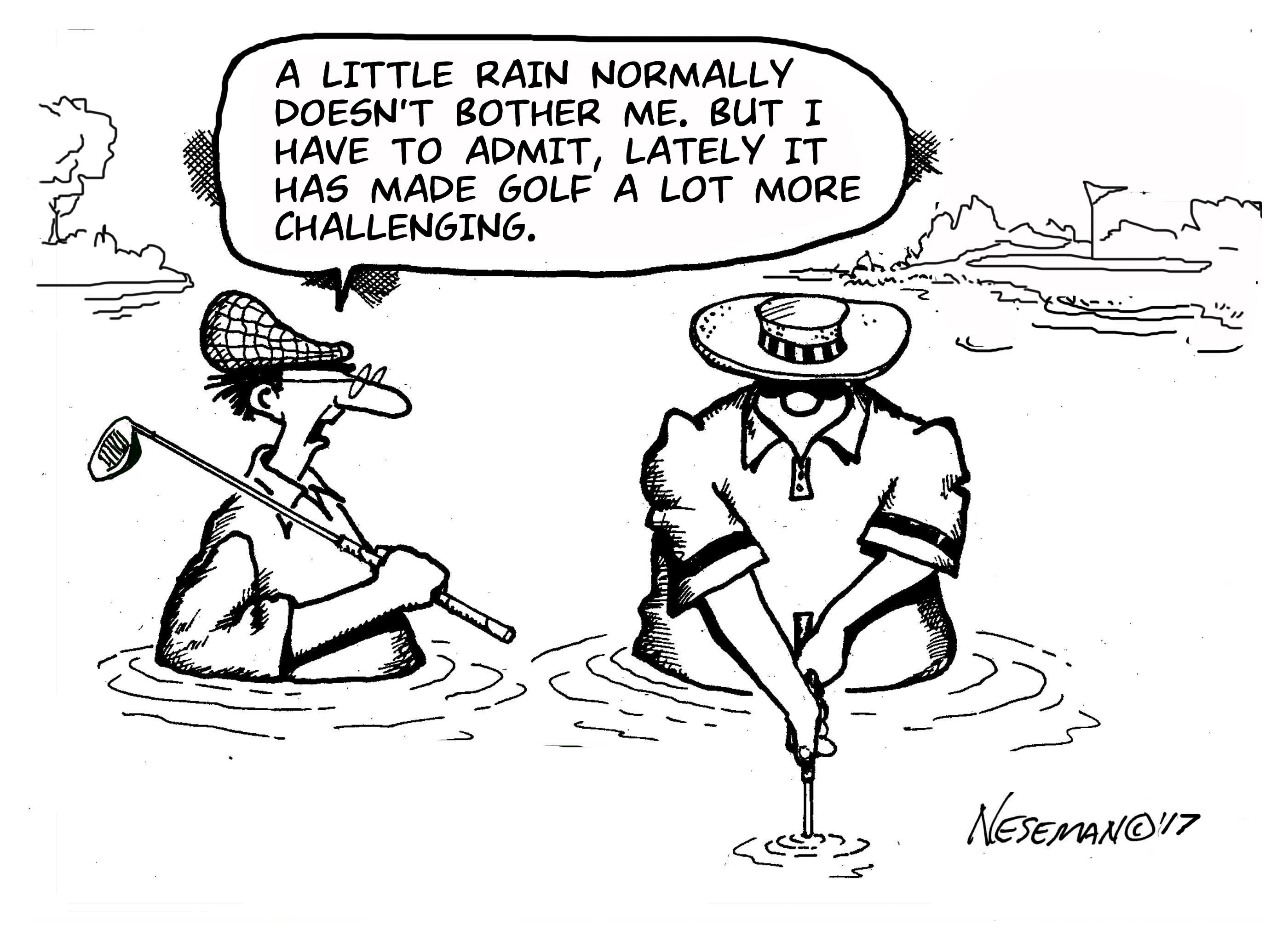 Golfing Tips For Playing In The Rain Copper Hills Golf Club